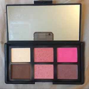 Nars danmari palette blushes bronzers highlight